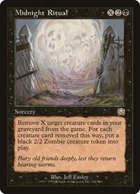 Midnight Ritual, Magic: The Gathering, Mercadian Masques