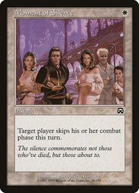 Moment of Silence, Magic: The Gathering, Mercadian Masques