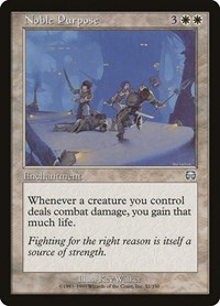 Noble Purpose, Magic: The Gathering, Mercadian Masques