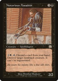 0kr06ghrjd Pgm Despite being the most religious of the guilds, they are arguably the least spiritual guild on ravnica. https shop tcgplayer com magic mercadian masques notorious assassin