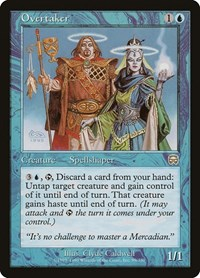Overtaker, Magic: The Gathering, Mercadian Masques