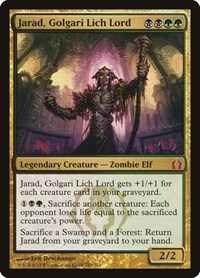 Jarad, Golgari Lich Lord, Magic: The Gathering, Return to Ravnica