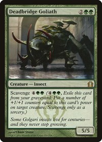 Deadbridge Goliath, Magic: The Gathering, Return to Ravnica