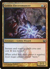 Goblin Electromancer, Magic: The Gathering, Return to Ravnica