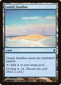 Lonely Sandbar, Magic: The Gathering, Duel Decks: Izzet vs. Golgari