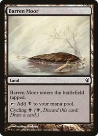 Barren Moor, Magic: The Gathering, Duel Decks: Izzet vs. Golgari