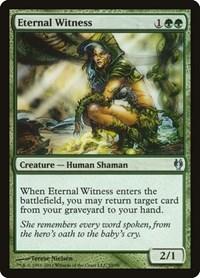 Eternal Witness, Magic: The Gathering, Duel Decks: Izzet vs. Golgari