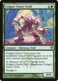 Golgari Grave-Troll, Magic: The Gathering, Duel Decks: Izzet vs. Golgari