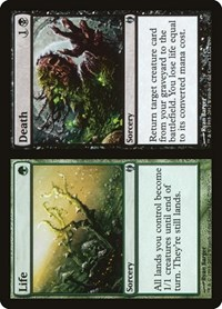 Life // Death, Magic: The Gathering, Duel Decks: Izzet vs. Golgari