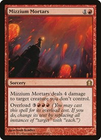 Mizzium Mortars, Magic, Return to Ravnica