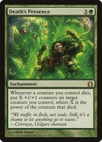 Death's Presence, Magic: The Gathering, Return to Ravnica