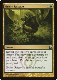 Grisly Salvage, Magic: The Gathering, Return to Ravnica
