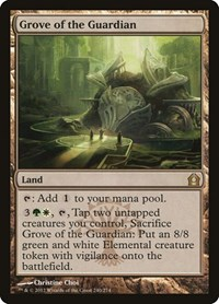 Grove of the Guardian, Magic, Return to Ravnica