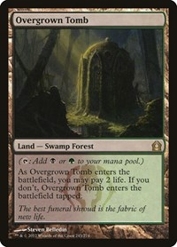 Overgrown Tomb, Magic: The Gathering, Return to Ravnica