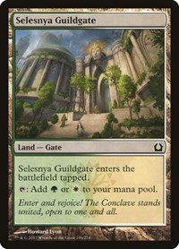 Selesnya Guildgate, Magic: The Gathering, Return to Ravnica