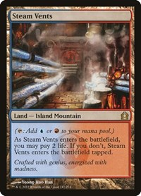 Steam Vents, Magic: The Gathering, Return to Ravnica