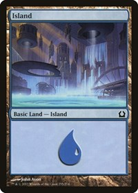Island (255), Magic: The Gathering, Return to Ravnica