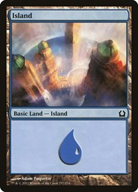 Island (257), Magic: The Gathering, Return to Ravnica