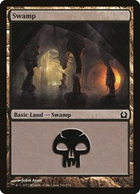 Swamp (260), Magic: The Gathering, Return to Ravnica