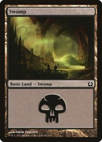 Swamp (262), Magic: The Gathering, Return to Ravnica