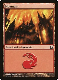 Mountain (269), Magic: The Gathering, Return to Ravnica