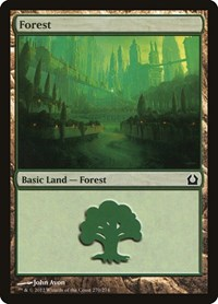 Forest (270), Magic: The Gathering, Return to Ravnica