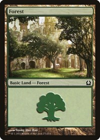 Forest (271), Magic: The Gathering, Return to Ravnica