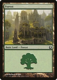 Forest (273), Magic: The Gathering, Return to Ravnica