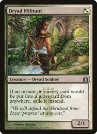 Dryad Militant, Magic: The Gathering, Return to Ravnica