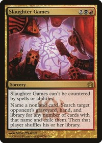 Slaughter Games, Magic: The Gathering, Return to Ravnica