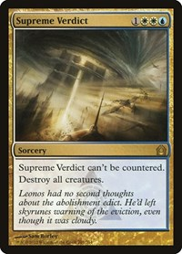 Supreme Verdict, Magic: The Gathering, Return to Ravnica