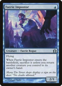 Faerie Impostor, Magic: The Gathering, Return to Ravnica