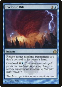 Cyclonic Rift, Magic: The Gathering, Return to Ravnica