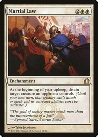 Martial Law, Magic: The Gathering, Return to Ravnica