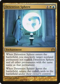 Detention Sphere, Magic: The Gathering, Return to Ravnica