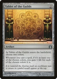 Tablet of the Guilds, Magic: The Gathering, Return to Ravnica