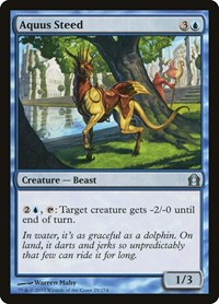 Aquus Steed, Magic: The Gathering, Return to Ravnica