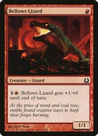 Bellows Lizard, Magic: The Gathering, Return to Ravnica