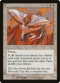 Ramosian Sky Marshal, Magic: The Gathering, Mercadian Masques
