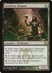 Deathrite Shaman, Magic: The Gathering, Return to Ravnica