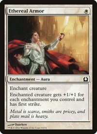 Ethereal Armor, Magic: The Gathering, Return to Ravnica