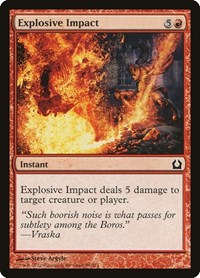 Explosive Impact, Magic: The Gathering, Return to Ravnica