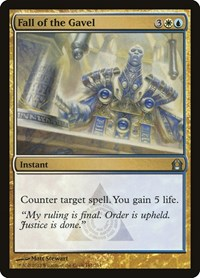 Fall of the Gavel, Magic: The Gathering, Return to Ravnica