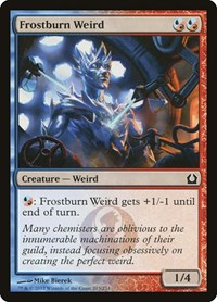 Frostburn Weird, Magic: The Gathering, Return to Ravnica