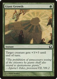 Giant Growth, Magic: The Gathering, Return to Ravnica
