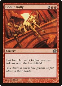 Goblin Rally, Magic: The Gathering, Return to Ravnica