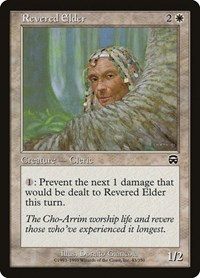 Revered Elder, Magic: The Gathering, Mercadian Masques