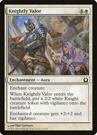 Knightly Valor, Magic: The Gathering, Return to Ravnica