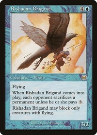 Rishadan Brigand, Magic: The Gathering, Mercadian Masques