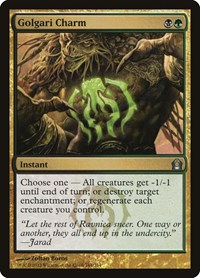 Golgari Charm, Magic: The Gathering, Return to Ravnica